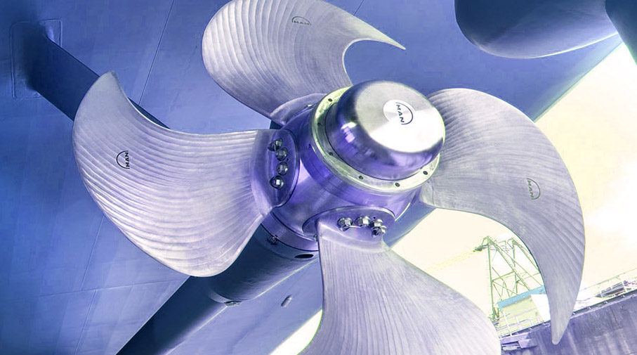 Maintaining the Propellers of Yachts